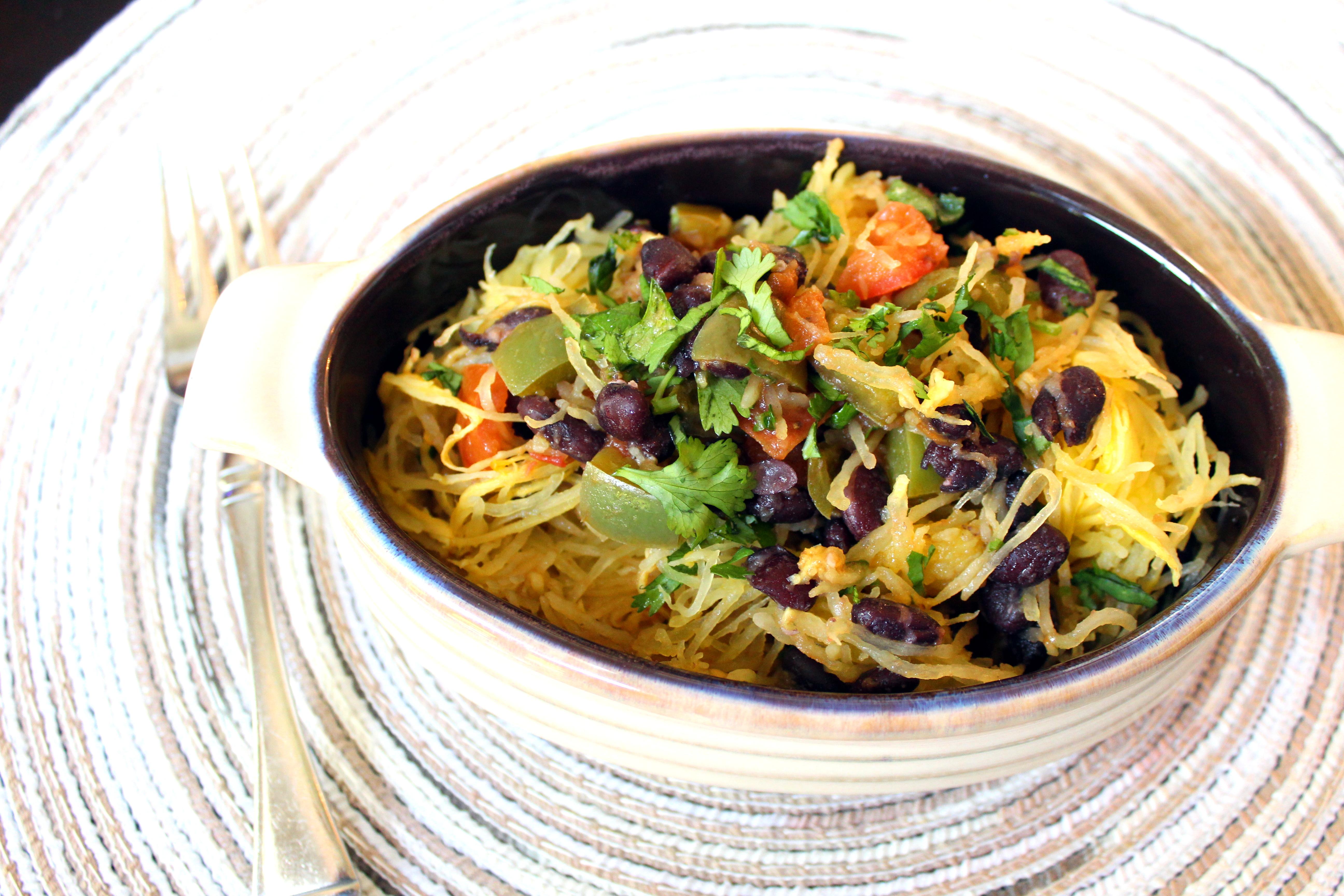 Southwestern Spaghetti Squash Chef Mo