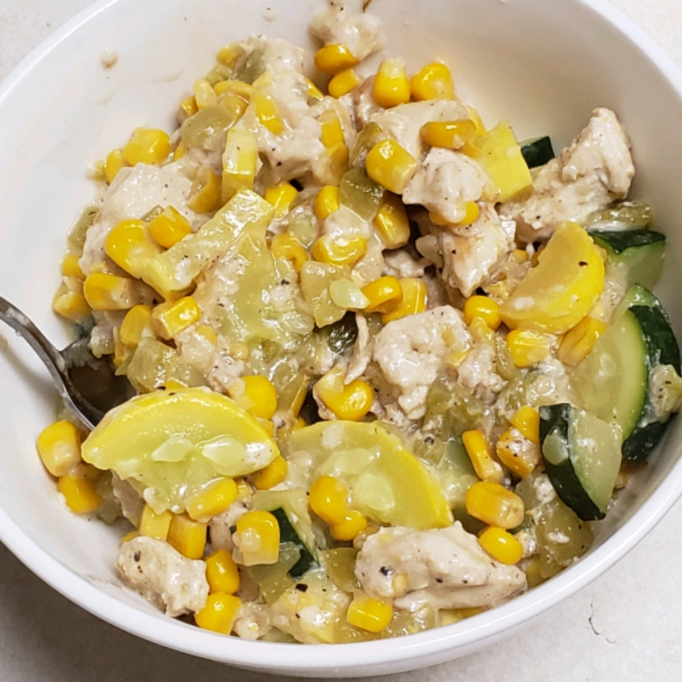 Calabacitas con Elote (Mexican-Style Zucchini with Corn) Alanna Larlee
