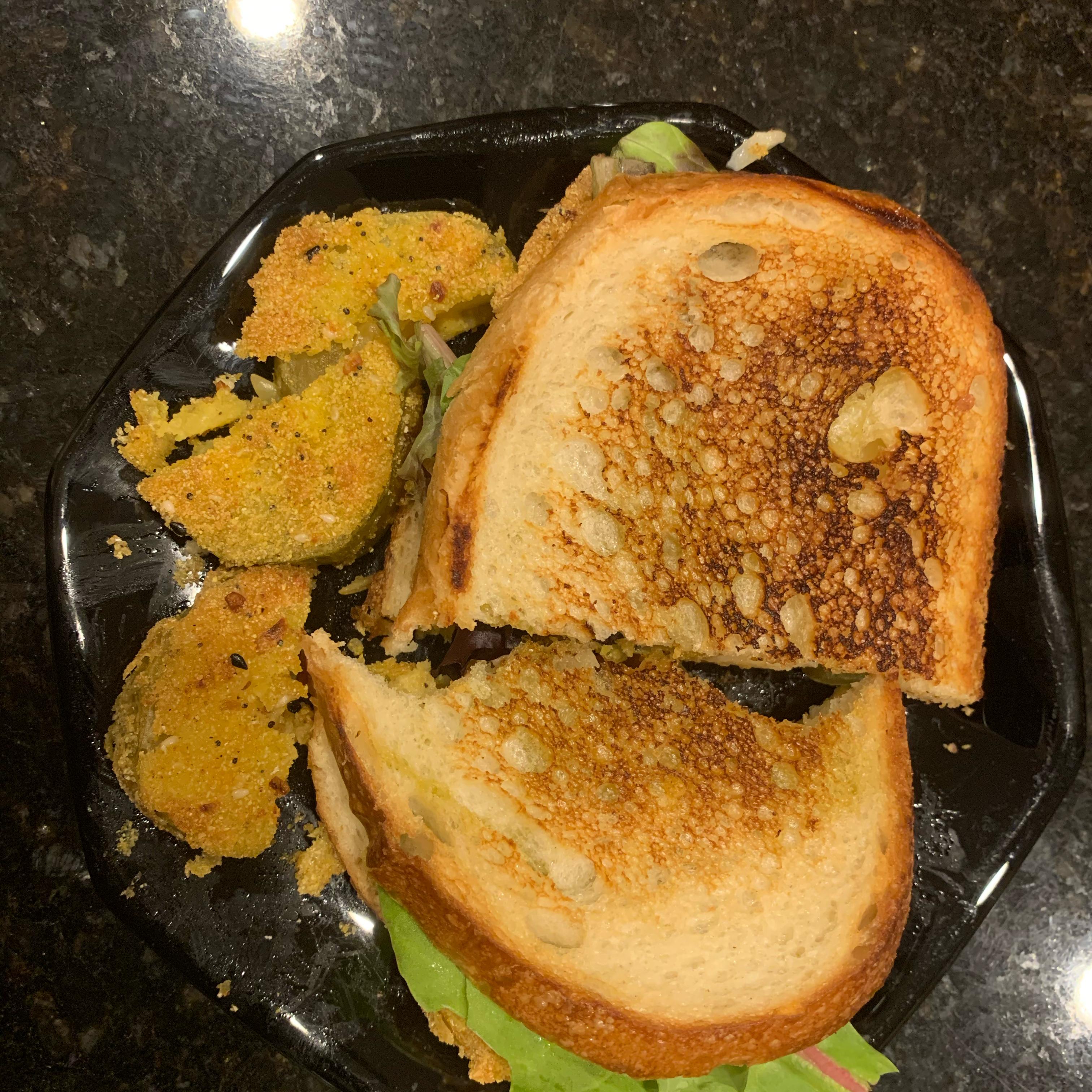 Fried Green Tomato Sandwich Catch Her
