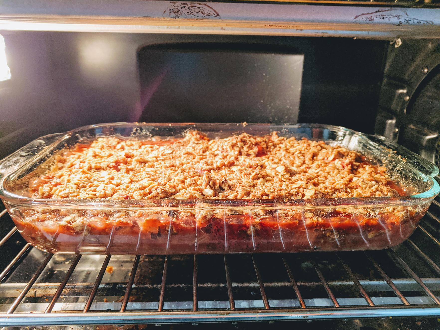 Chef John's Rhubarb Crisp