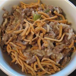Chow Mein Noodle Casserole image