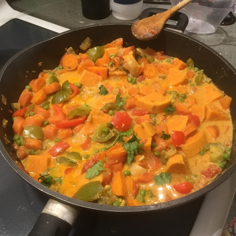 Vegetarian Korma Jitka Kucharova