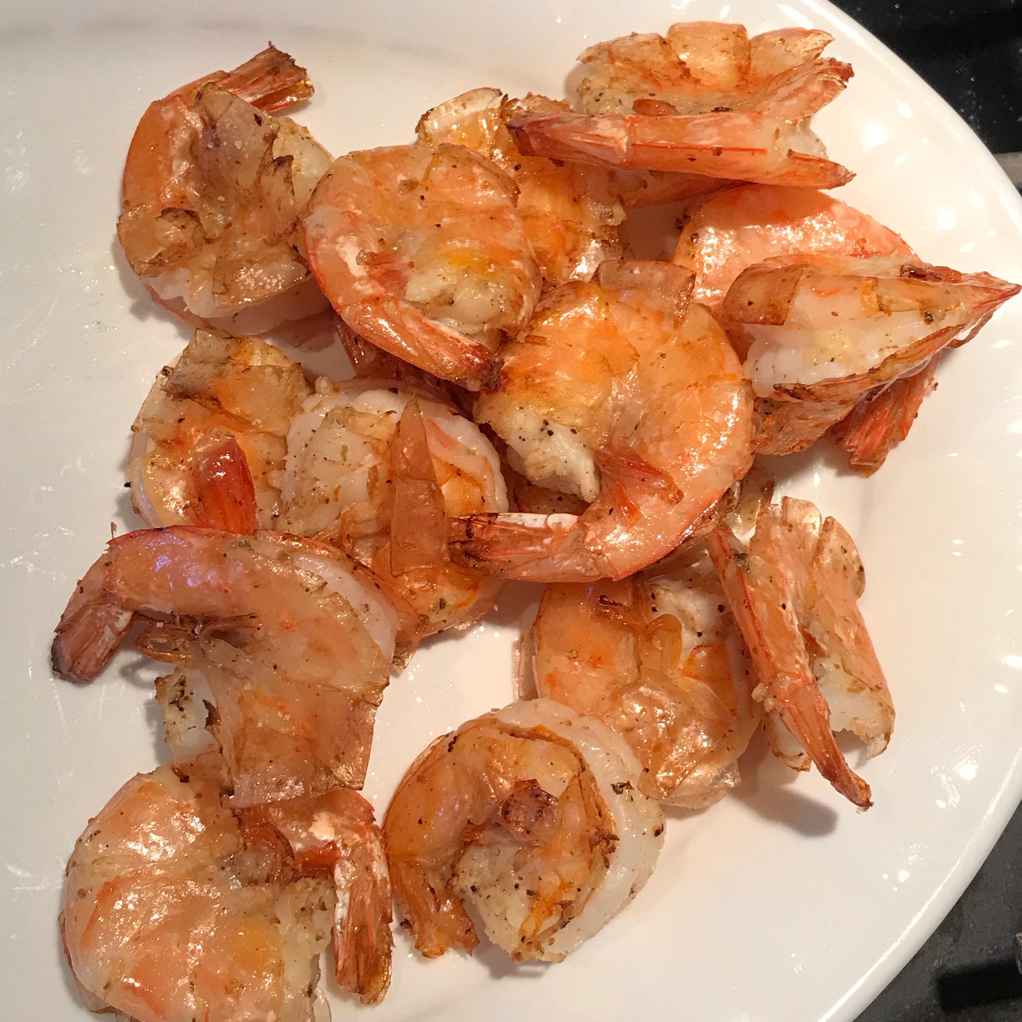 Air Fryer Lemon Pepper Shrimp sfmom