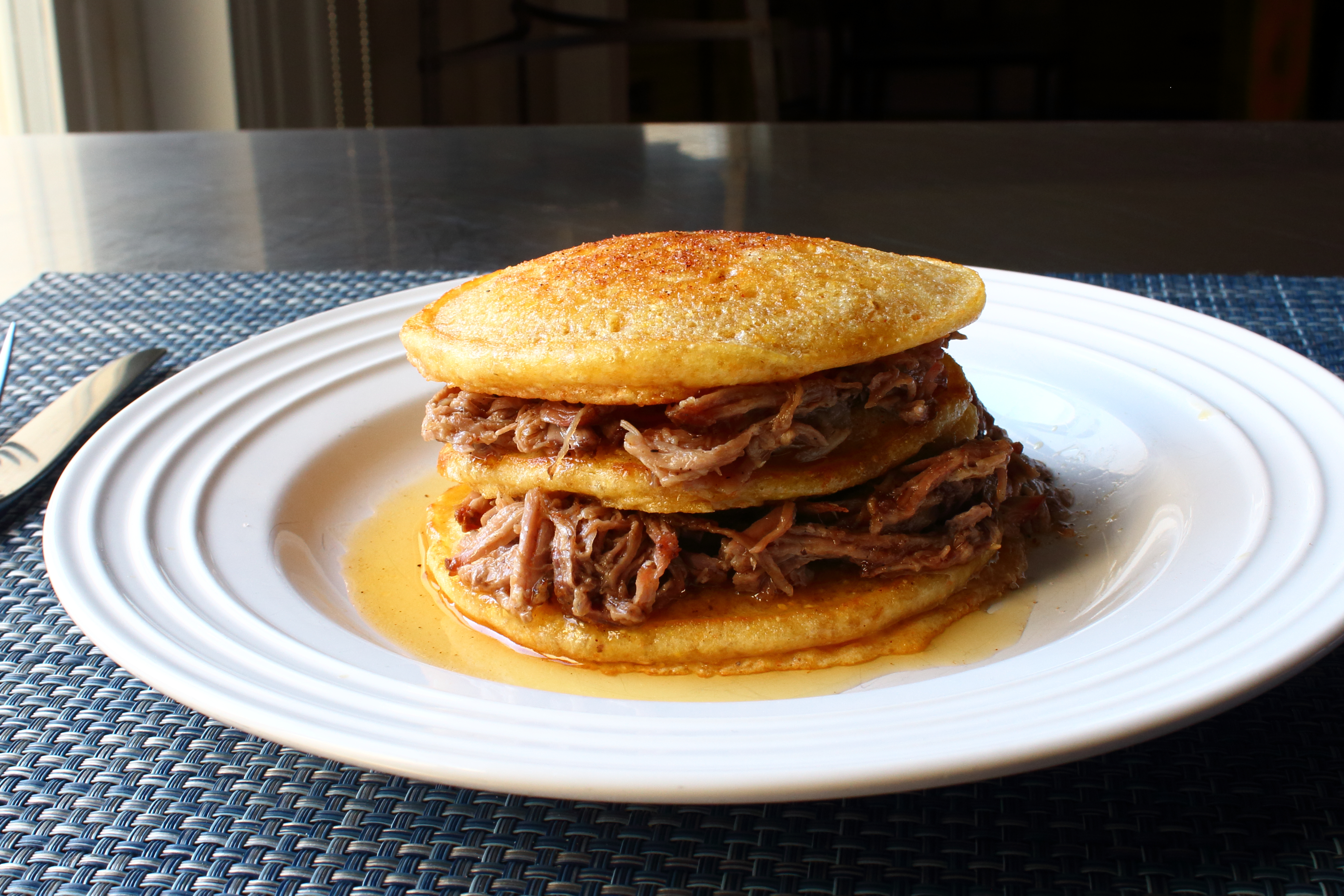 Pulled Pork Pancakes Chef John
