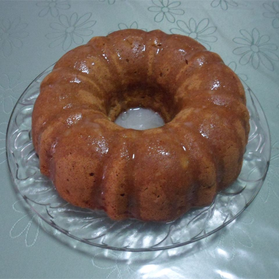 Apple Walnut Cake Kaye