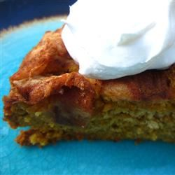 Pumpkin Cake with Apple Top pomplemousse