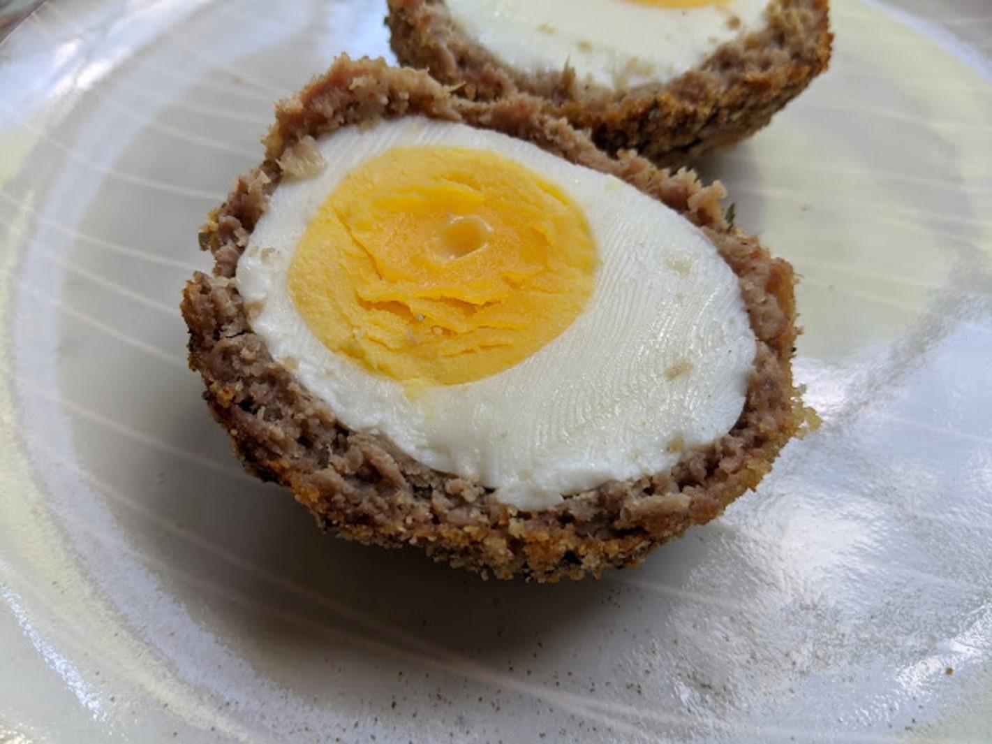 Baked Scotch Eggs Rebekah Rose Hills