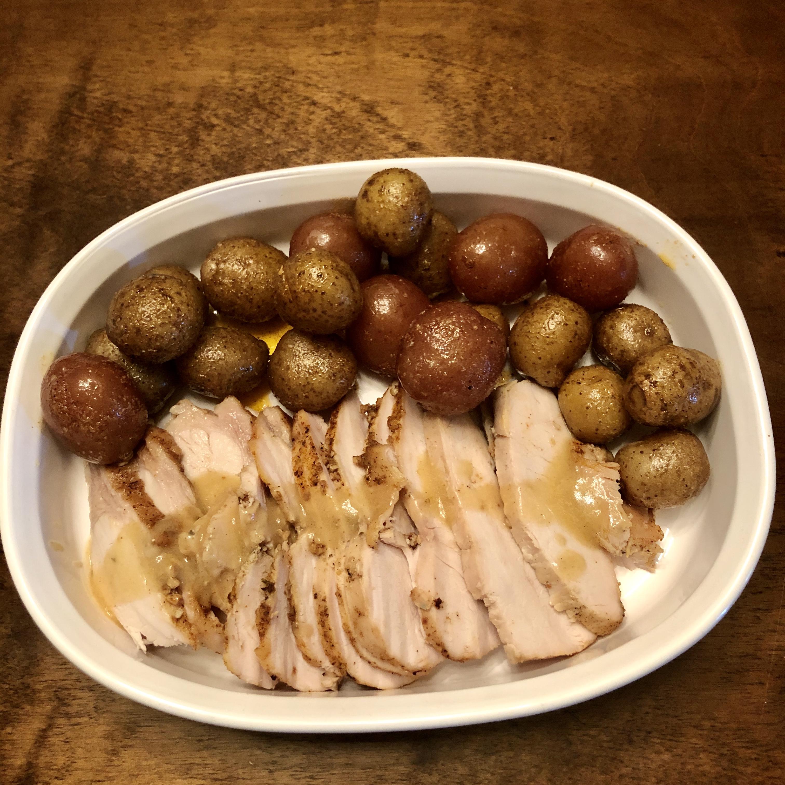 Oven-Roasted Turkey Breast