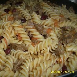 Taco Beef and Pasta Babycoconut
