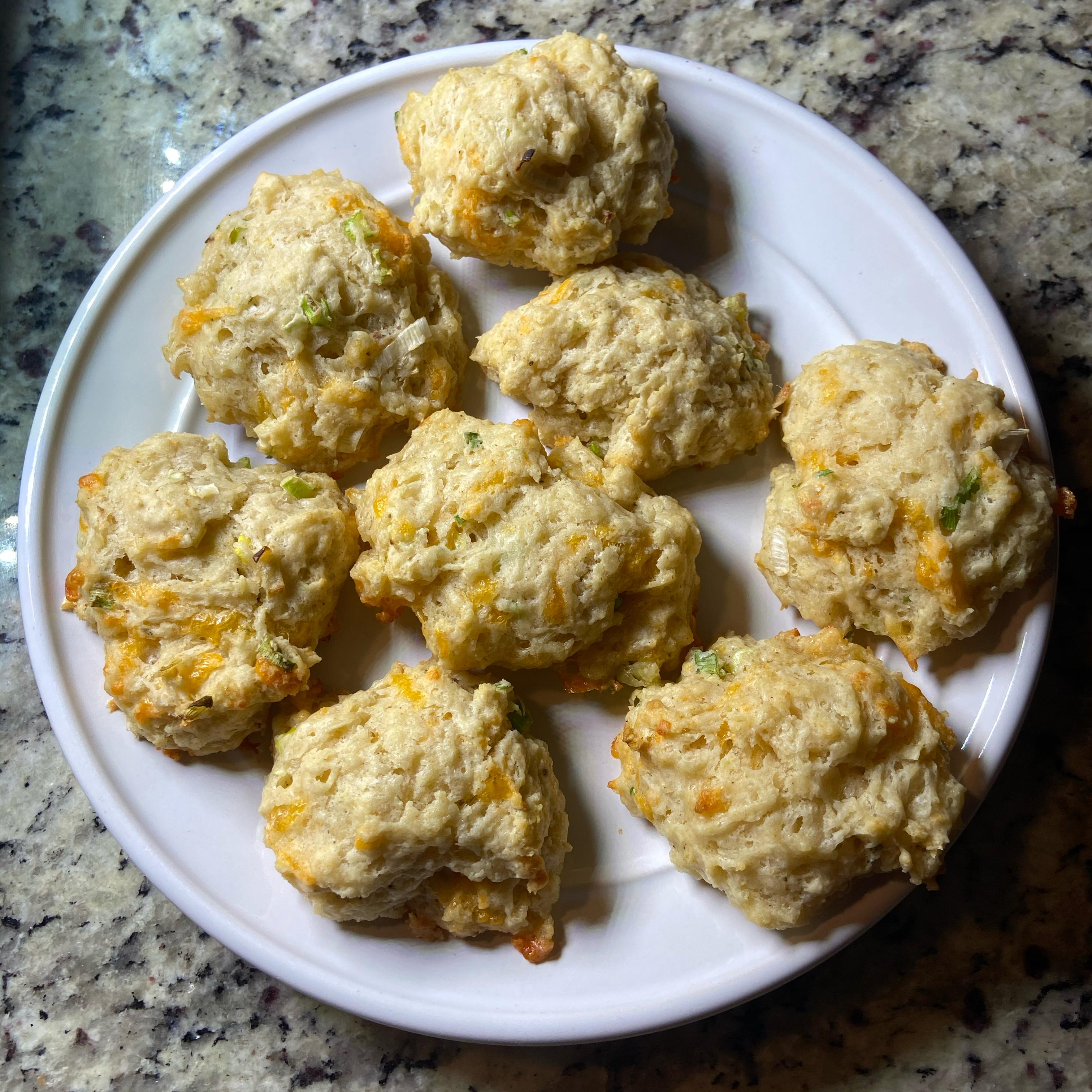 Cheddar-Scallion Buttermilk Biscuits Sandy