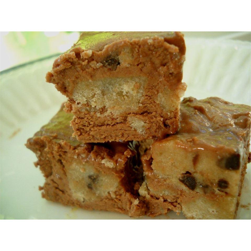 Chocolate Chip Cookie Dough Fudge Linda T