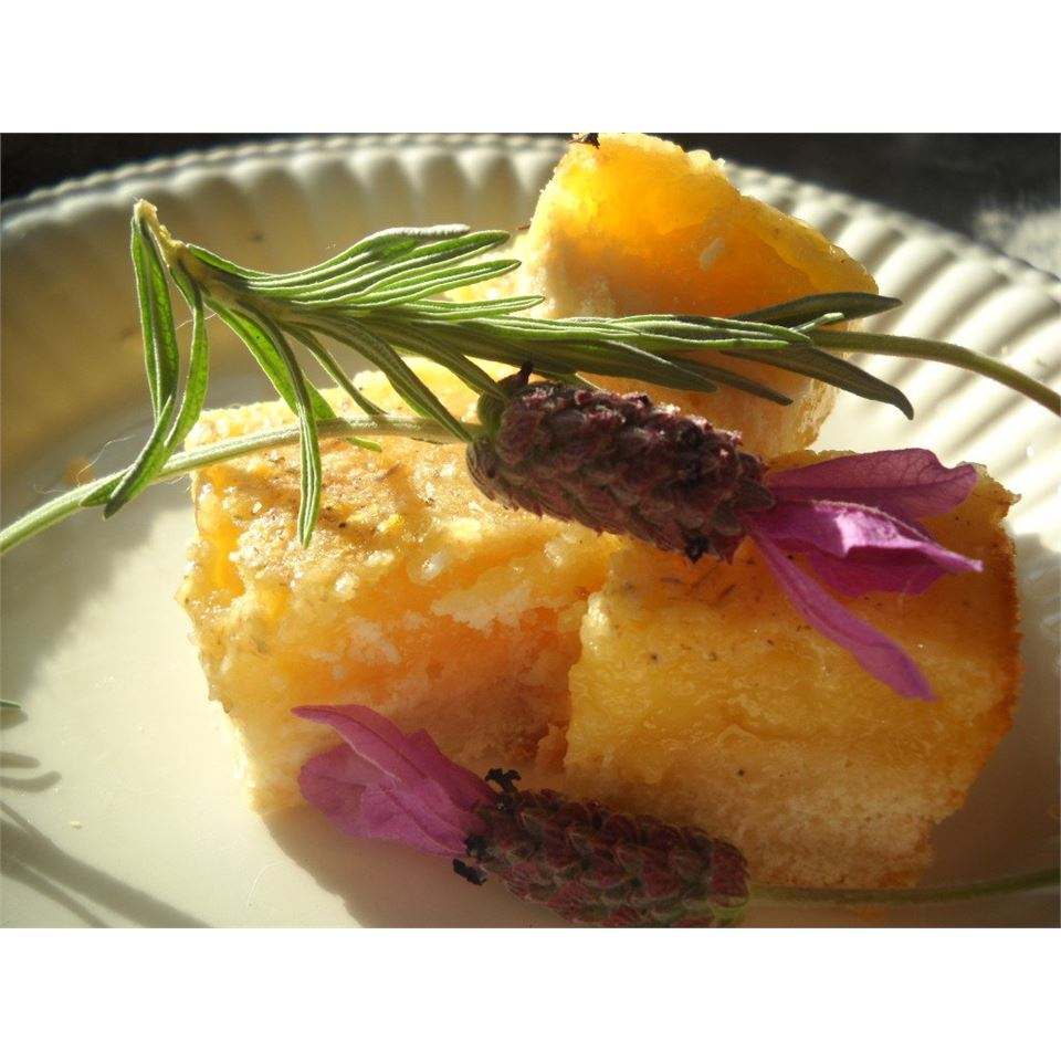 Lavender Lemon Bars Linda T