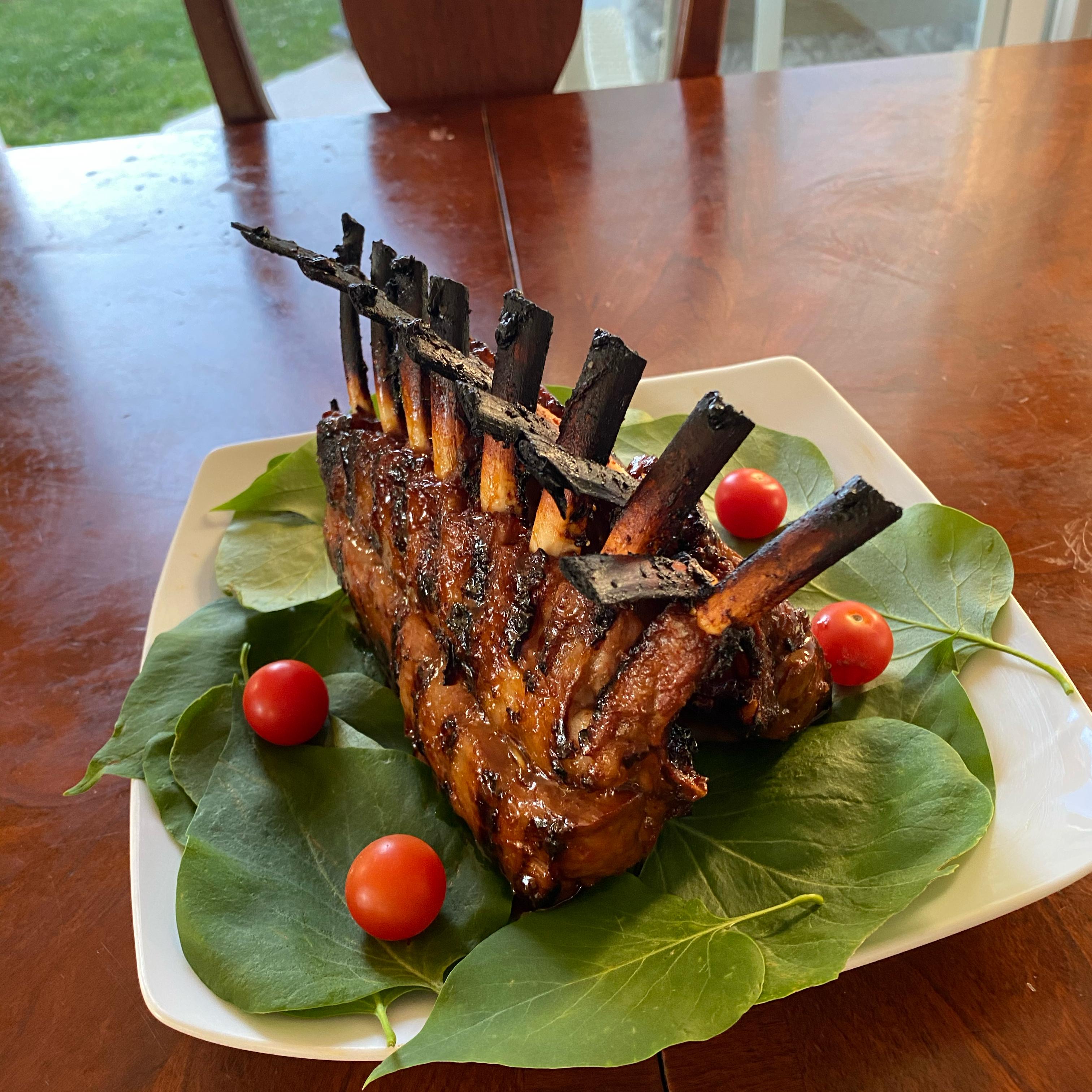 Korean Barbecued Rack of Lamb