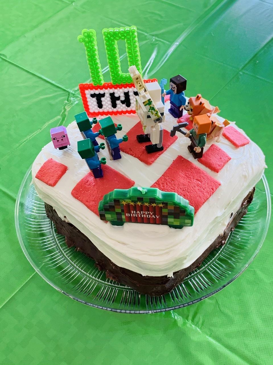 Minecraft Cake Ximena Schuss