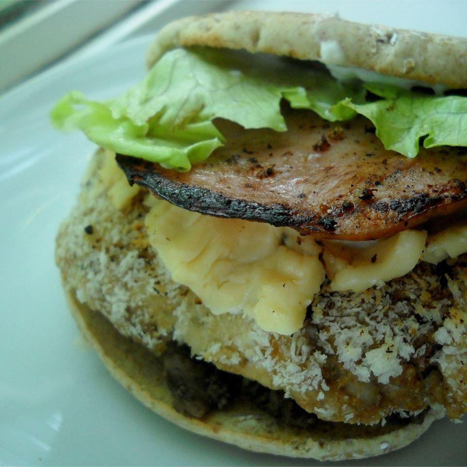 Gourmet Gouda Turkey Burgers