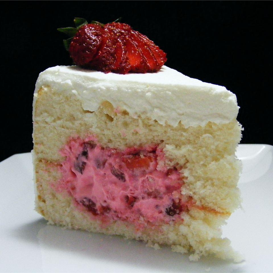 Fruit-Filled White Cake abapplez