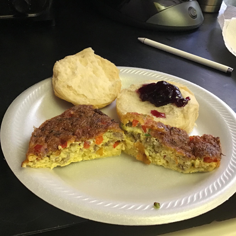 Air Fryer Breakfast Frittata