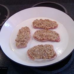 Horseradish Pork Chops