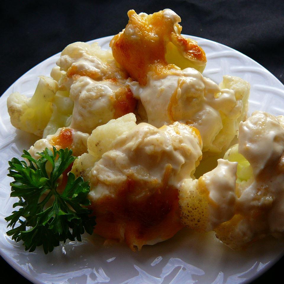 Cauliflower with Dijon Sauce Molly