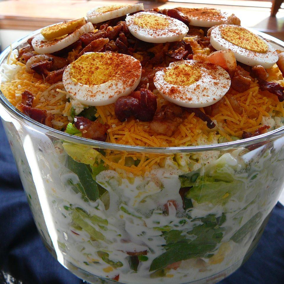 Twenty Four Hour Layered Salad Heather