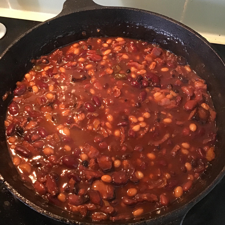 Texas-Style Baked Beans nanciemartin