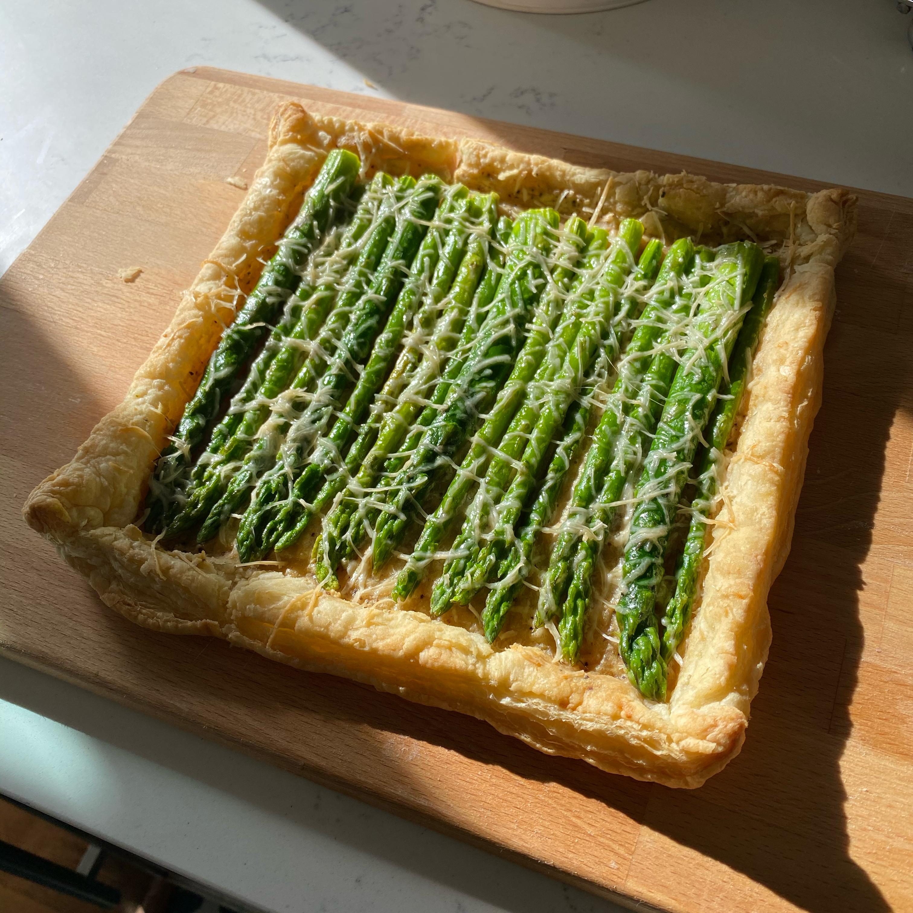 Chef John's Asparagus Tart David Raya
