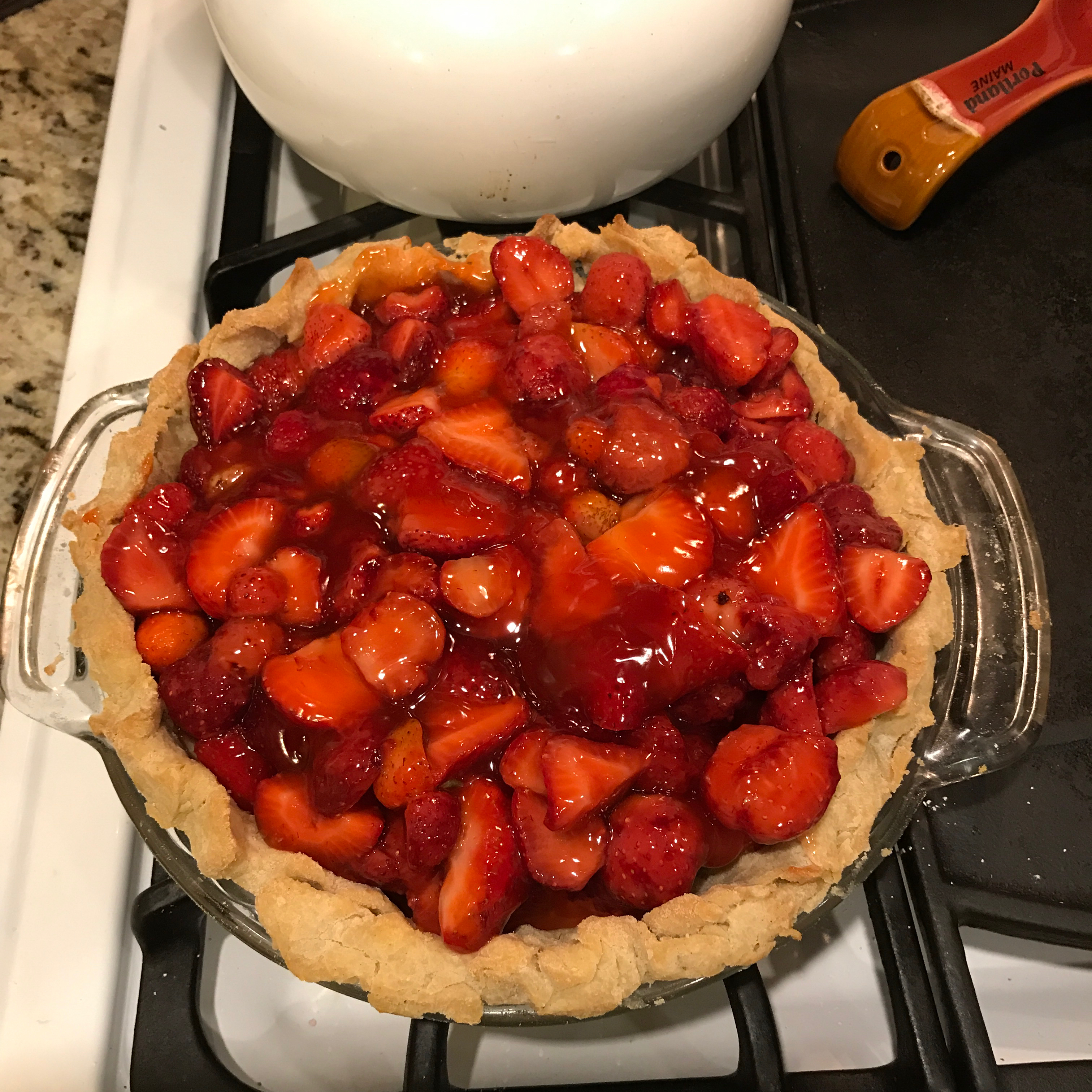 Strawberry Pie Filling Becky Schwartz Finnegan
