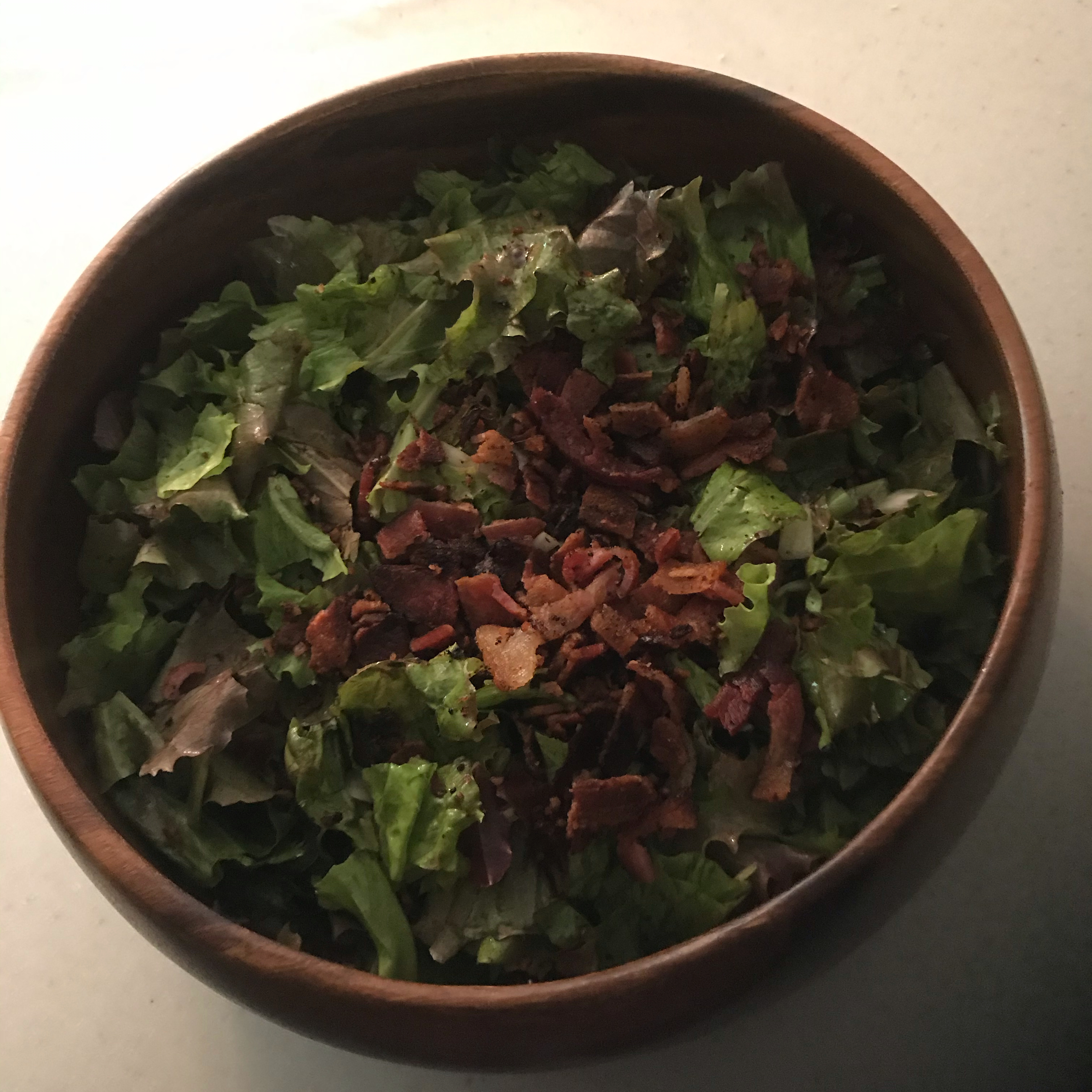 Wilted Lettuce Salad Patty