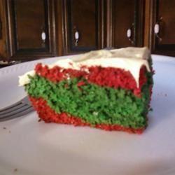 Red and Green Velvet Cake! arielxxlynn