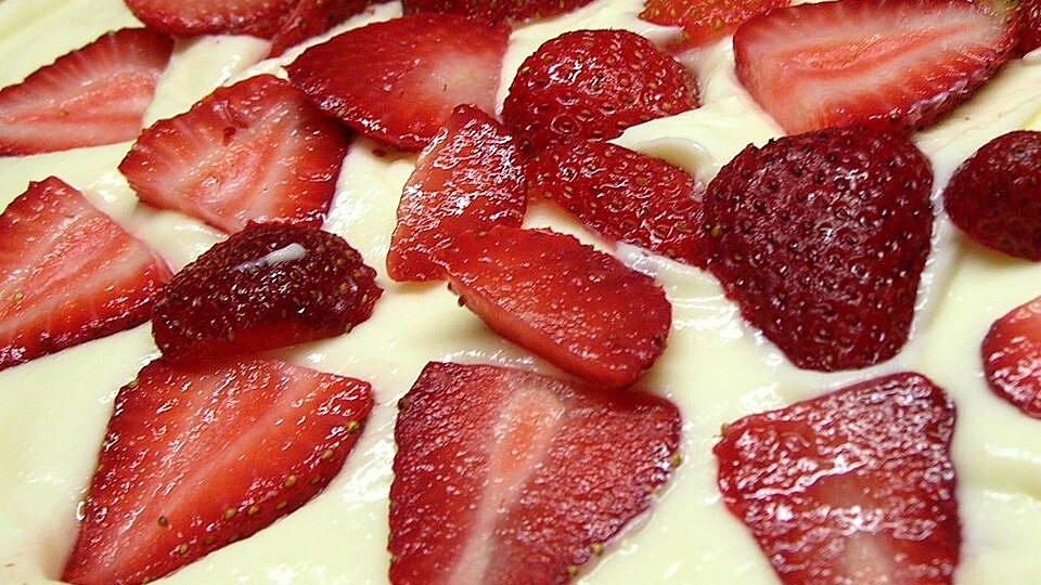 No Bake Sugar Free Strawberry Cheesecake