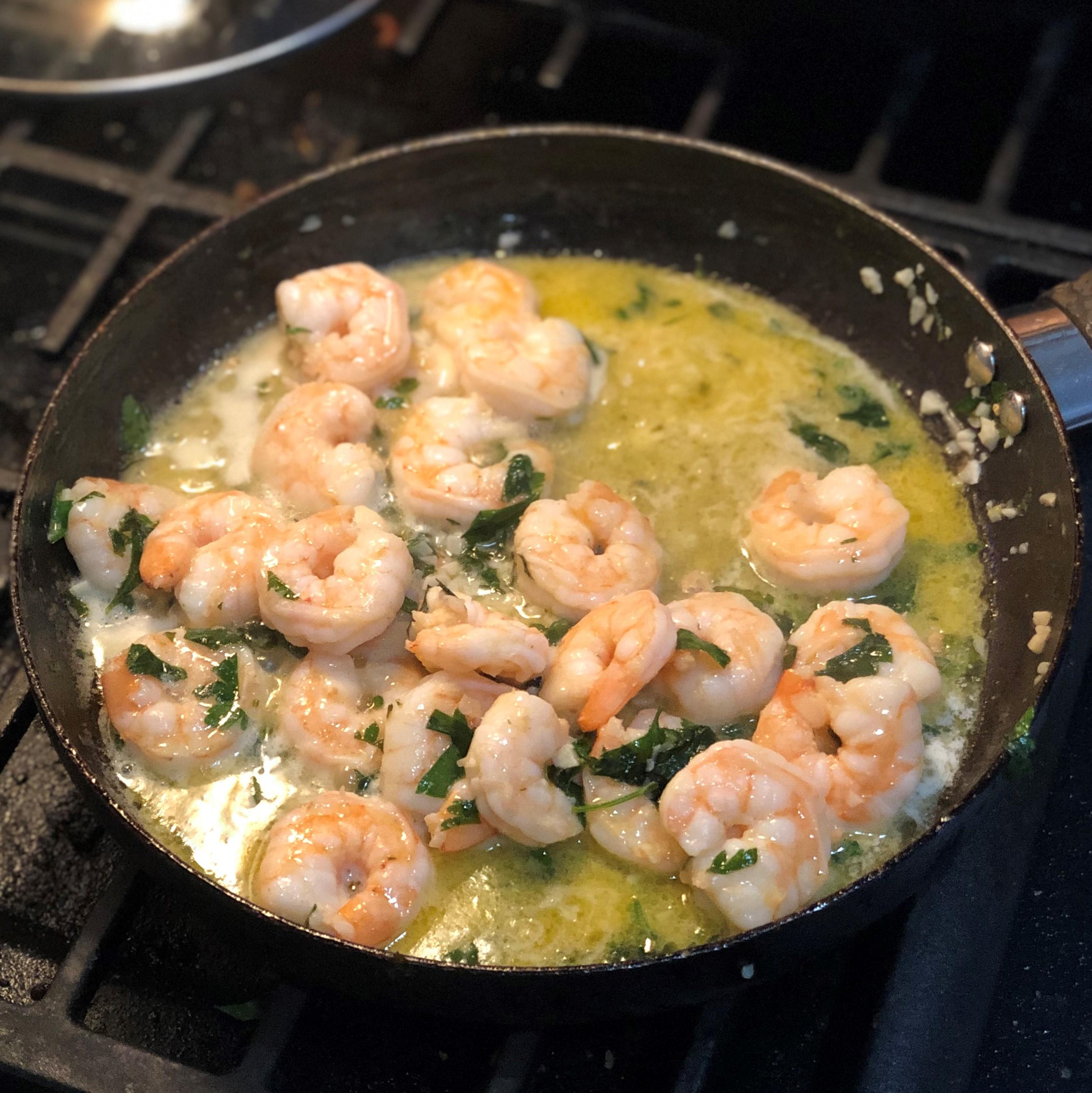 Simple Garlic Shrimp Kyle Fleming