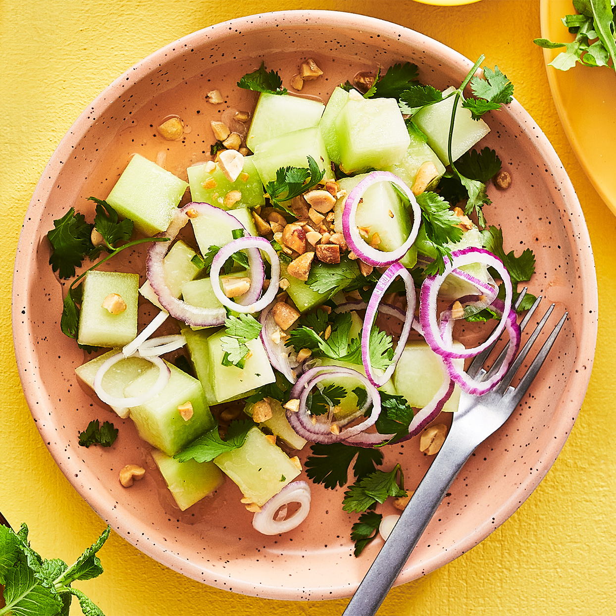 Spicy Thai Melon Salad Trusted Brands