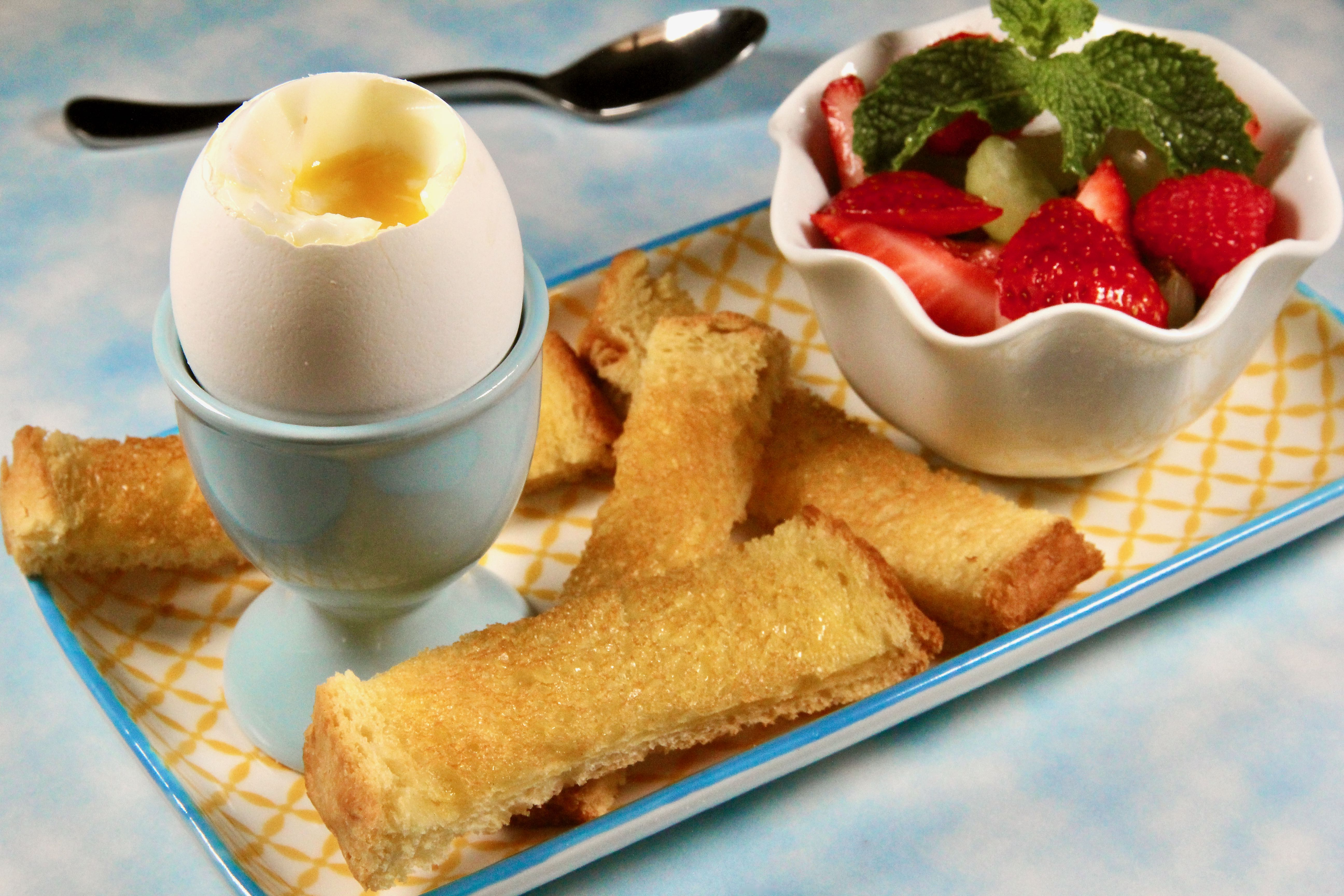 Instant Pot® Eggs and Soldiers