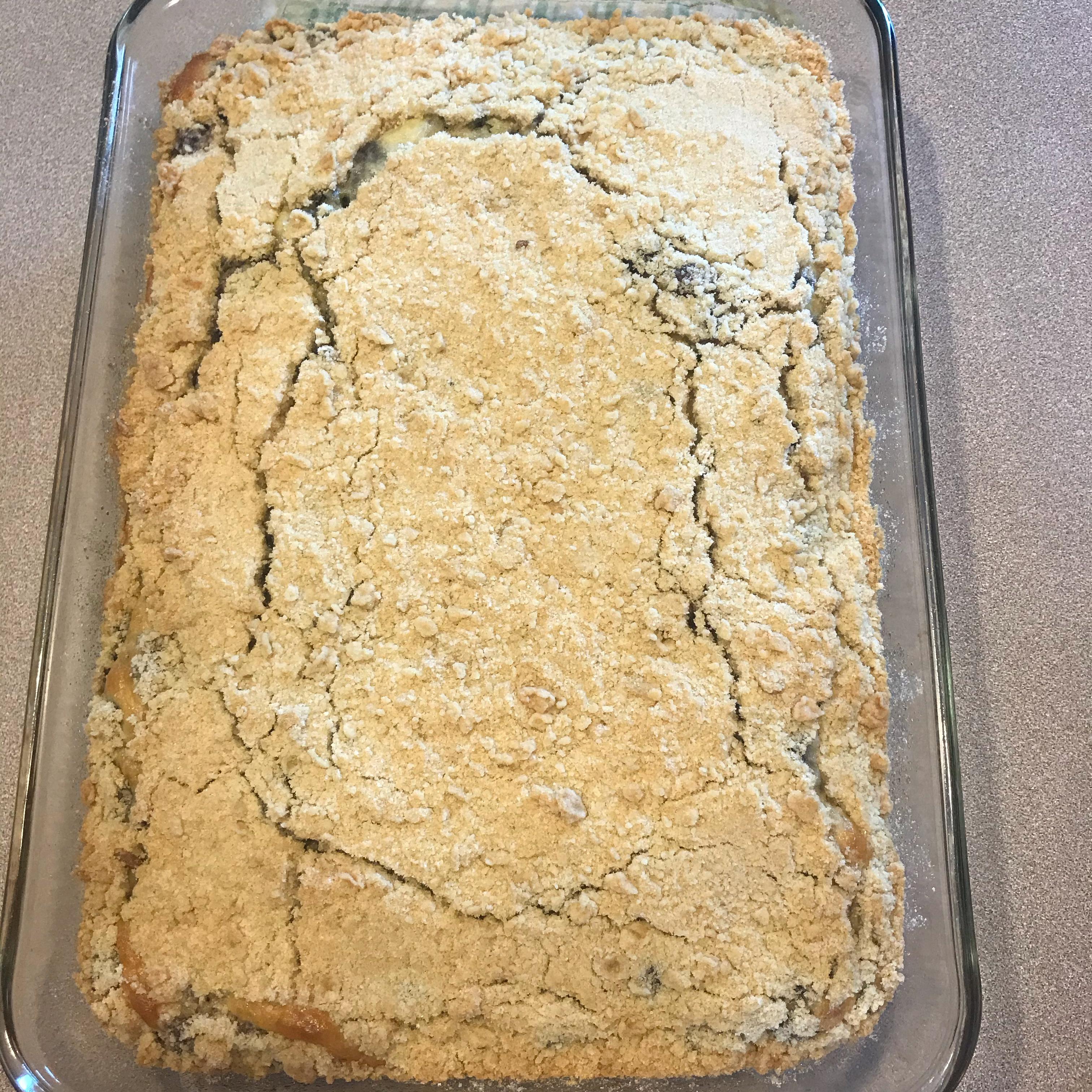 Mulberry Kuchen (Cake)