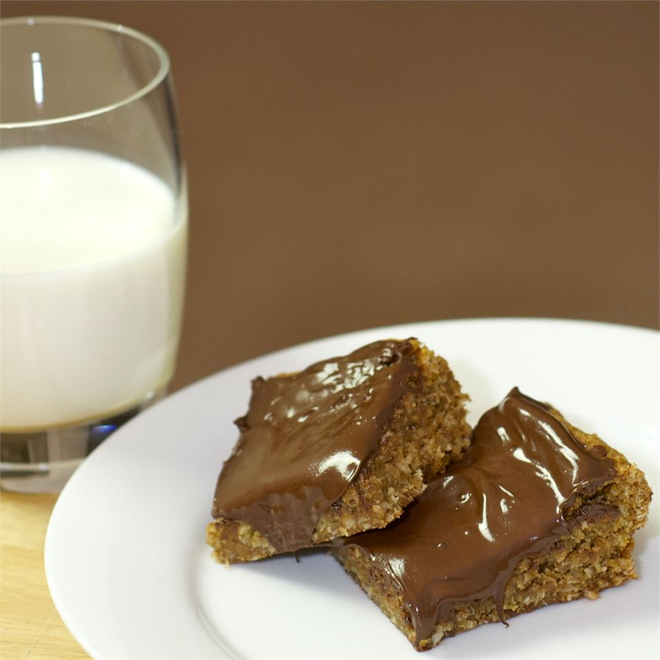 Oatmeal Chocolate Goodness Bars magicallydelicious