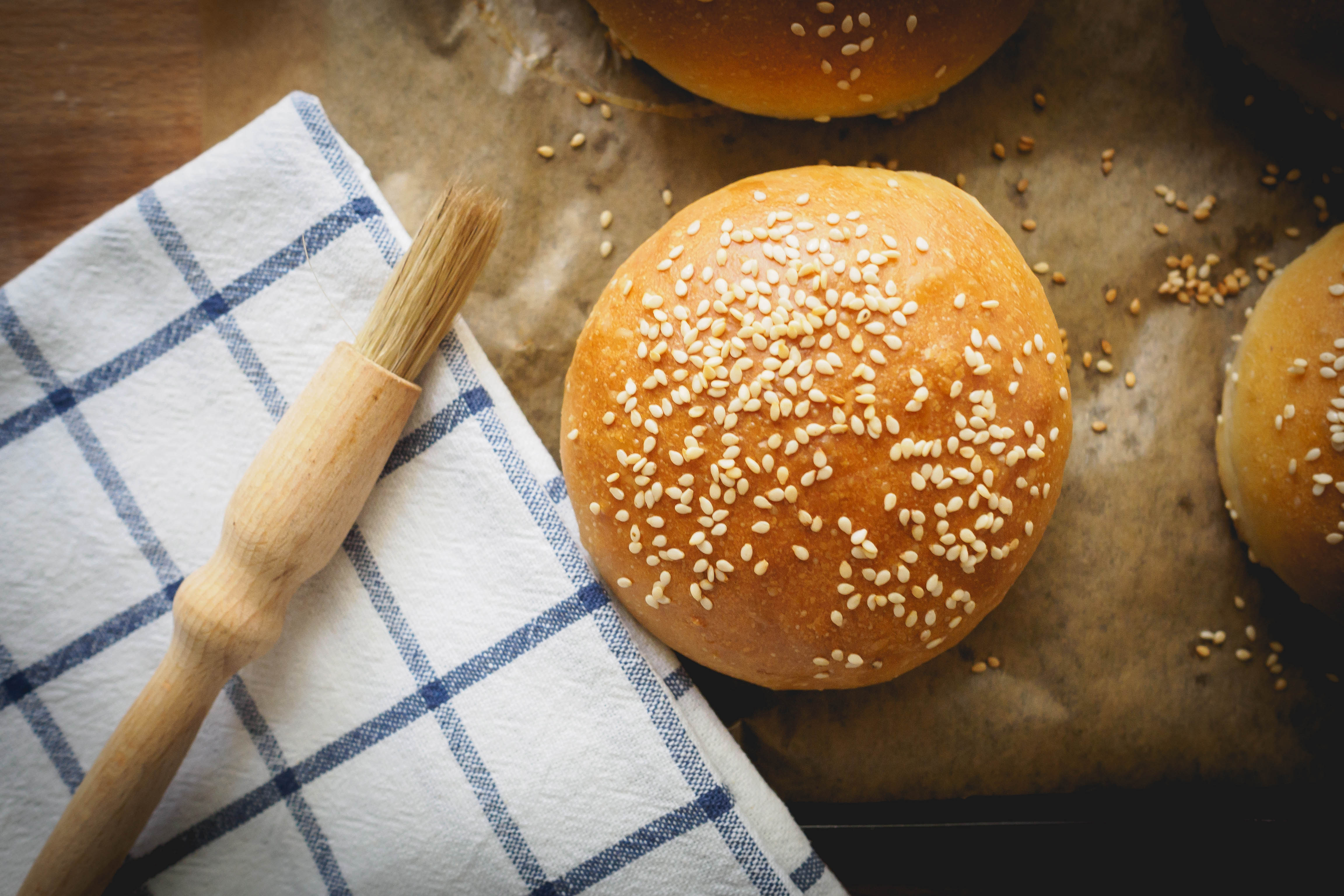Baking Powder Hamburger Buns