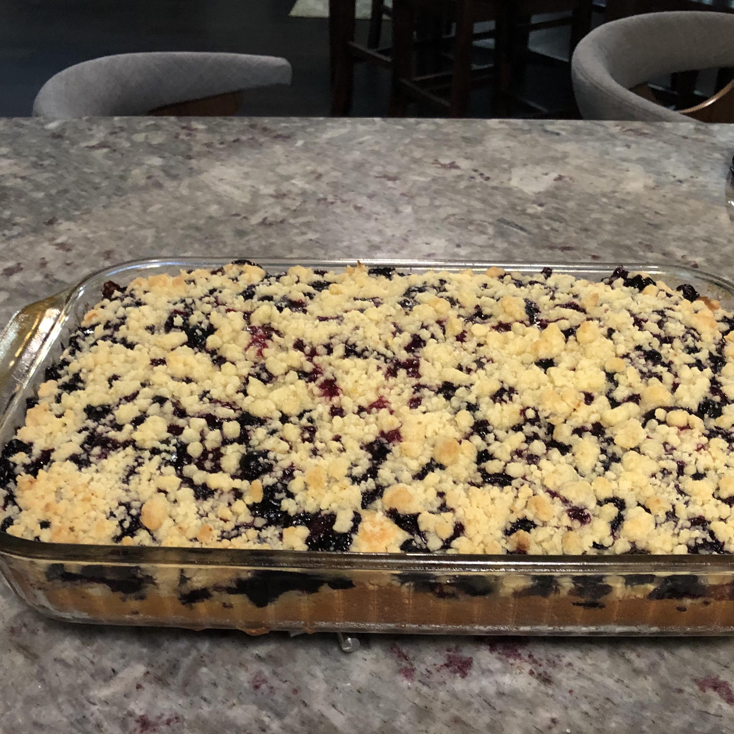 Raspberry-Sour Cream Crumb Cake NJmeetsTX