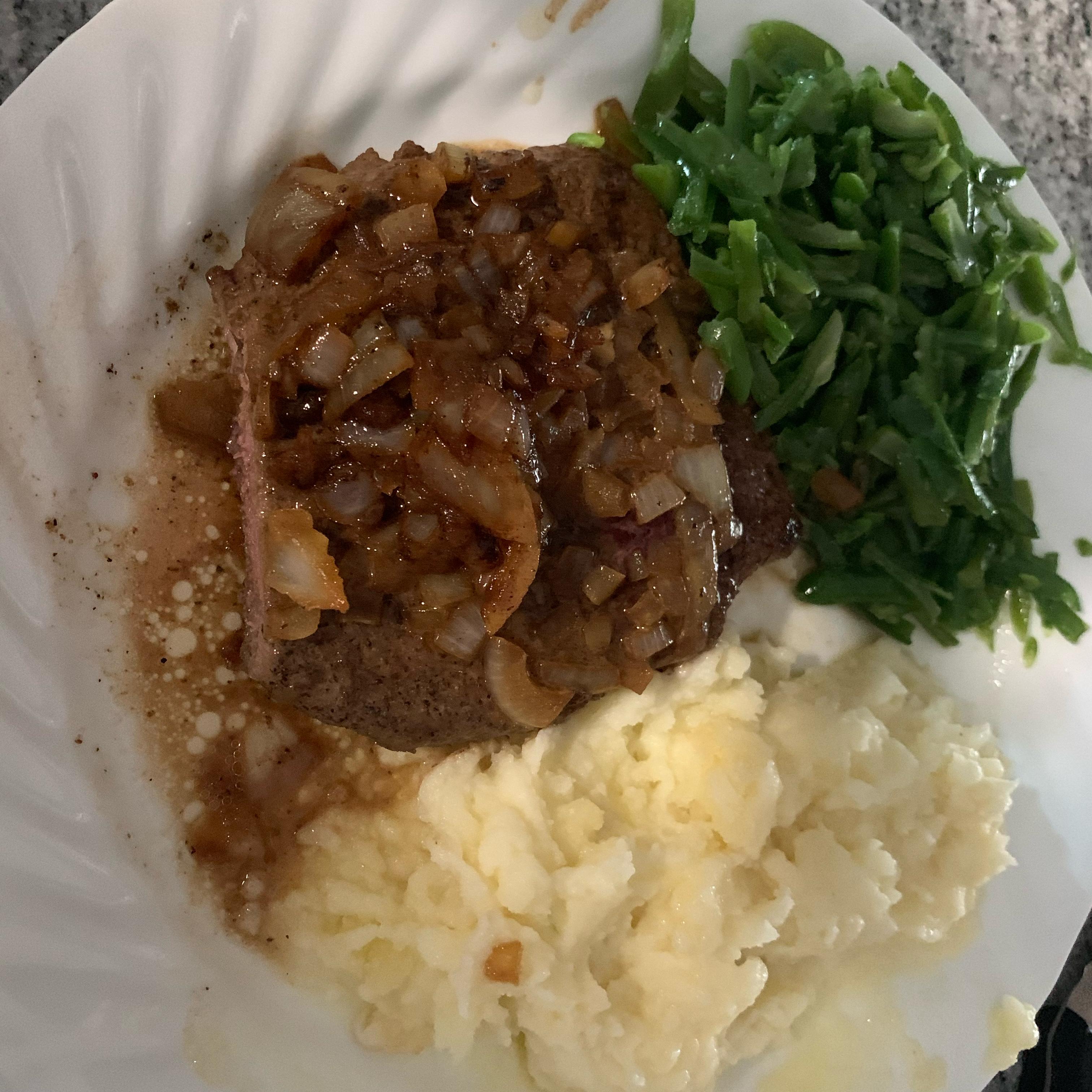 Steak Diane Adam Roarke