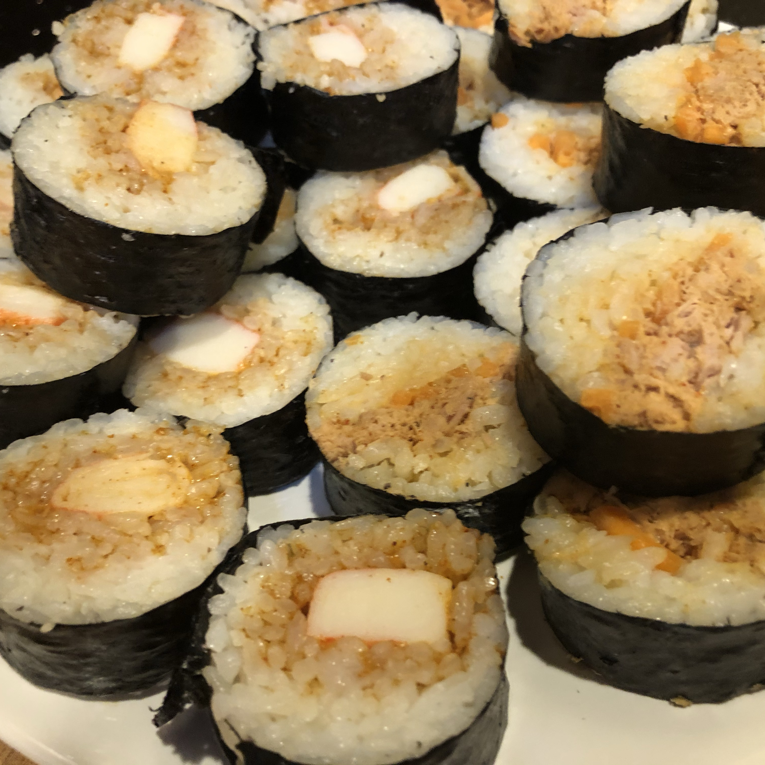 Spicy Sushi Roll Dberg