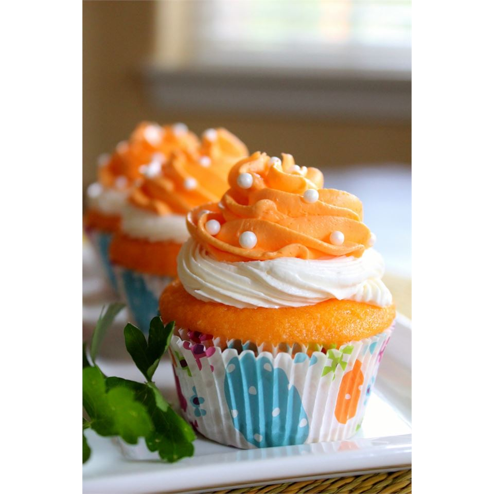 Dreamy Orange Cupcakes Melissa Goff