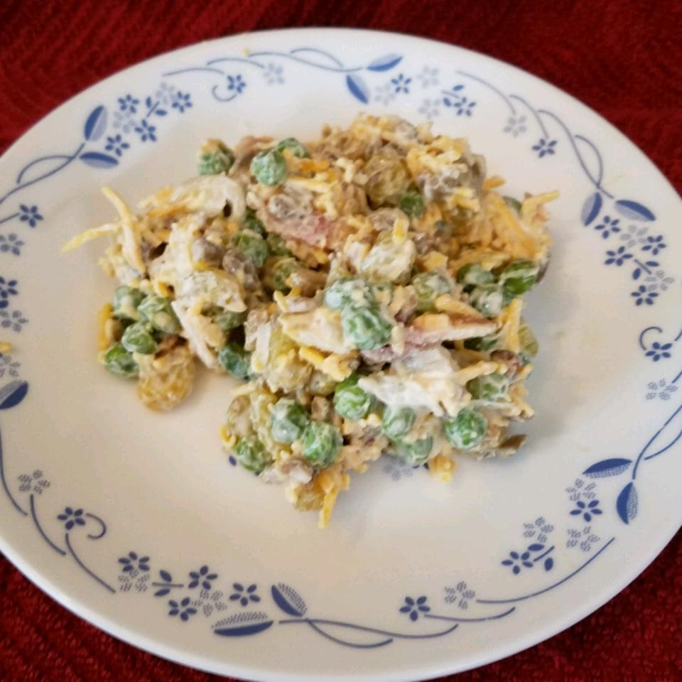 Yummy Summer Pea Salad ULFR HAMR