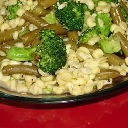 Broccoli, Corn, and Green Bean Saute GodivaGirl