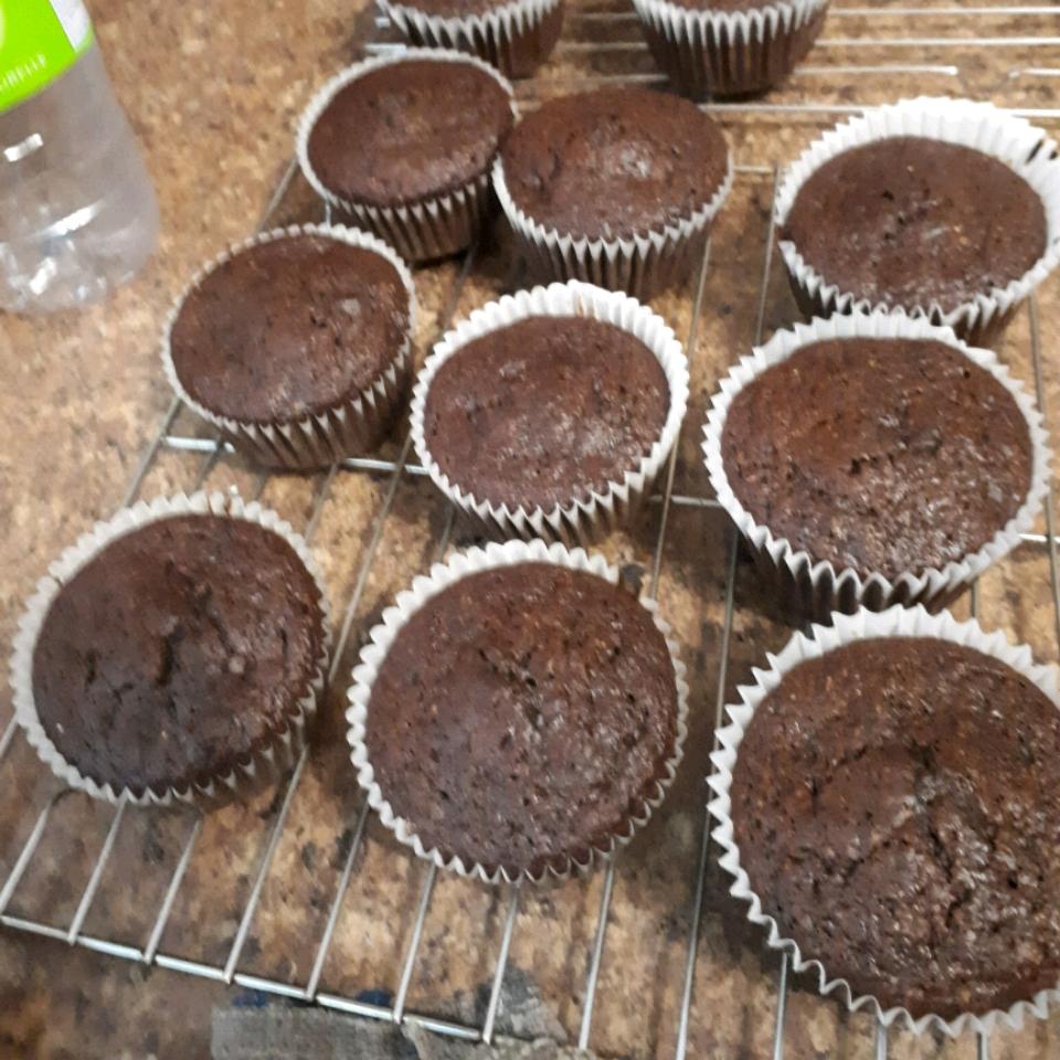 Healthy Chocolate Morning Muffins Kpetrutiu