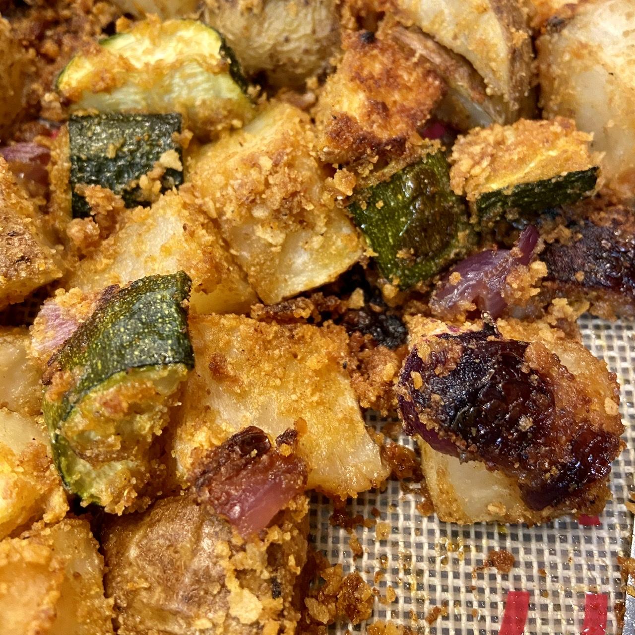 Zucchini and Potato Bake CNW