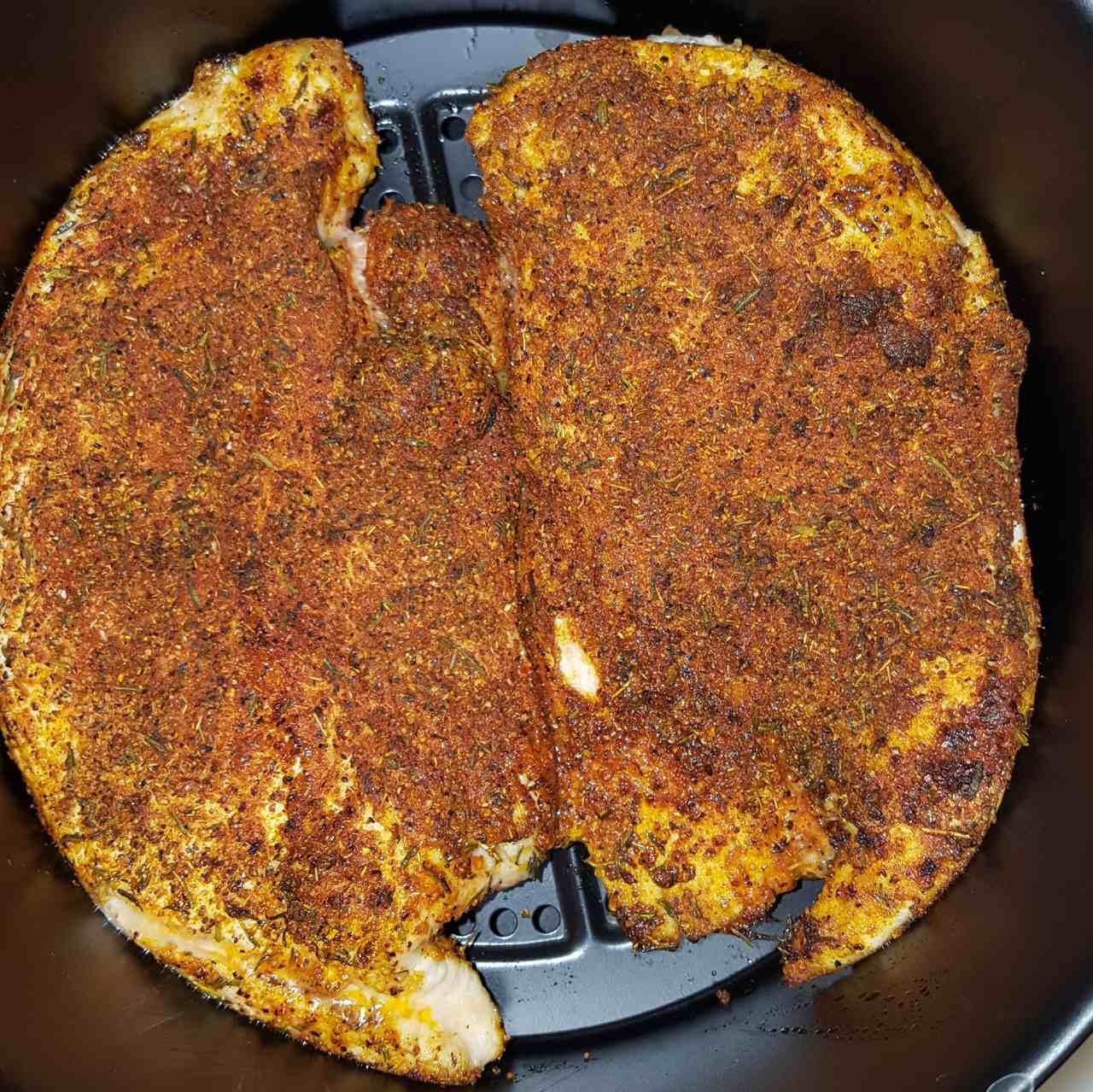 Air Fryer Blackened Chicken Breast Teresa Flack