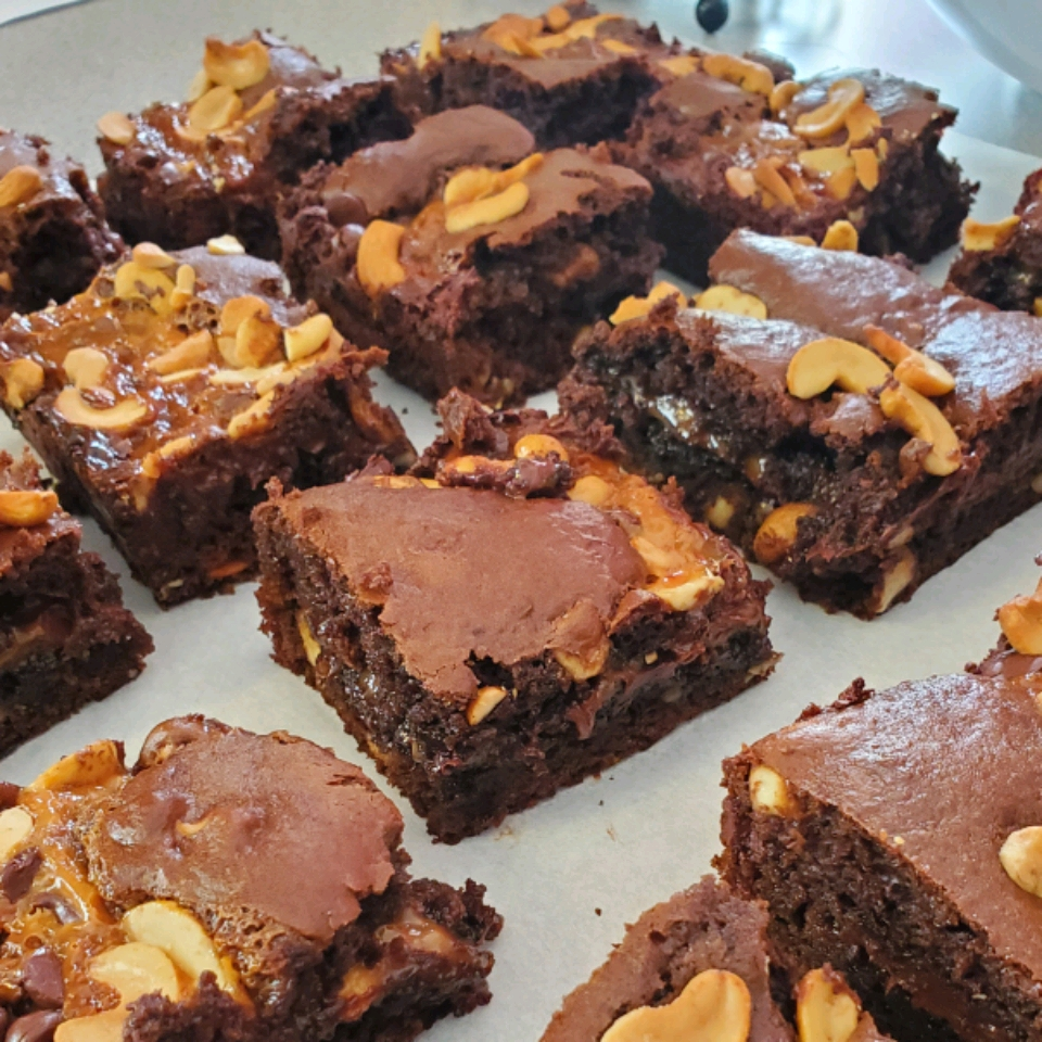 Caramel Turtles® Brownies