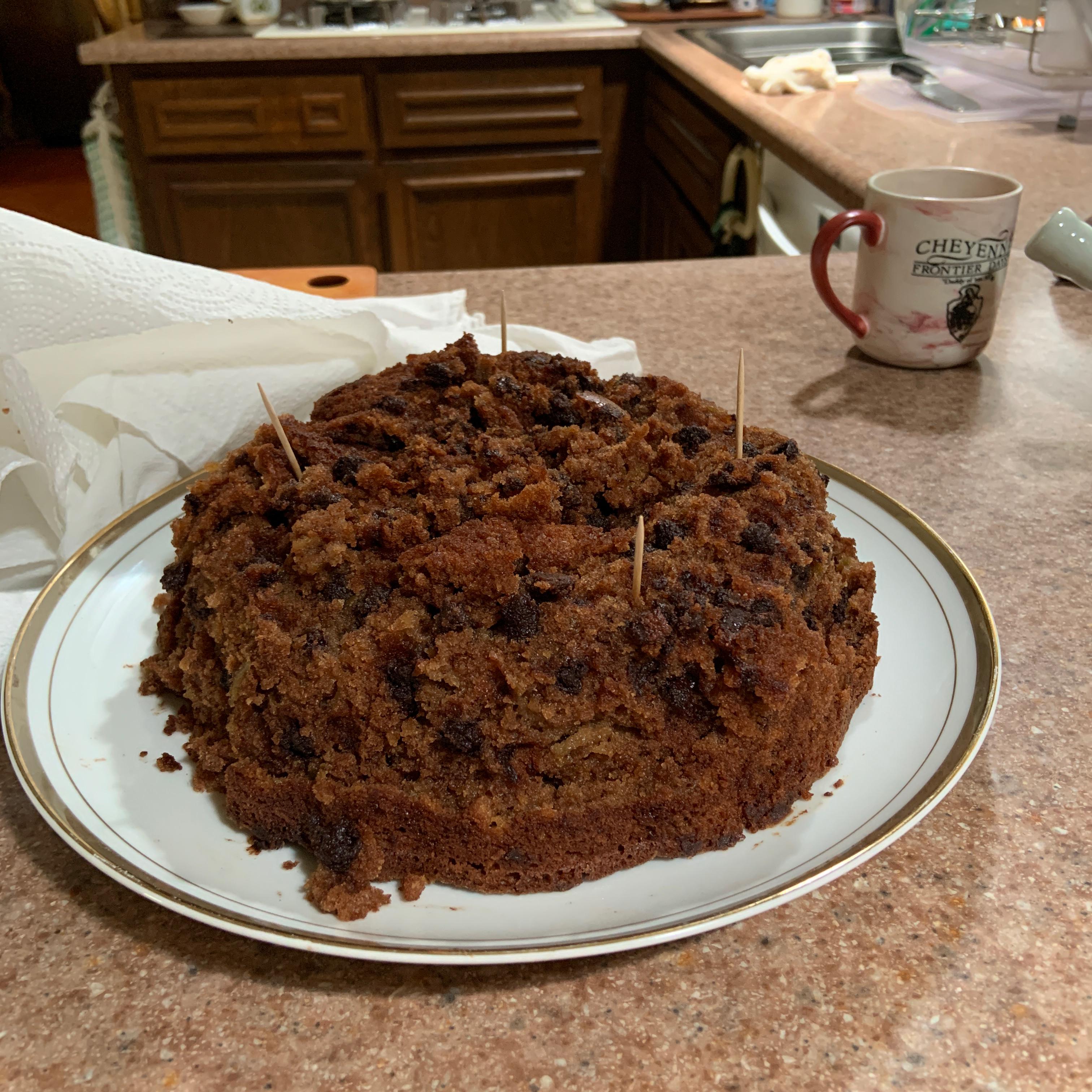 Kelly's Apple Cocoa Cake Rachelle Cooper