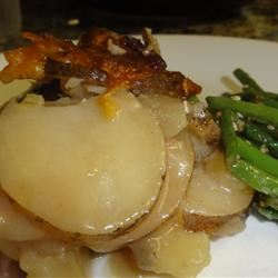 Scalloped Potatoes and Onions Carol Castellucci Miller