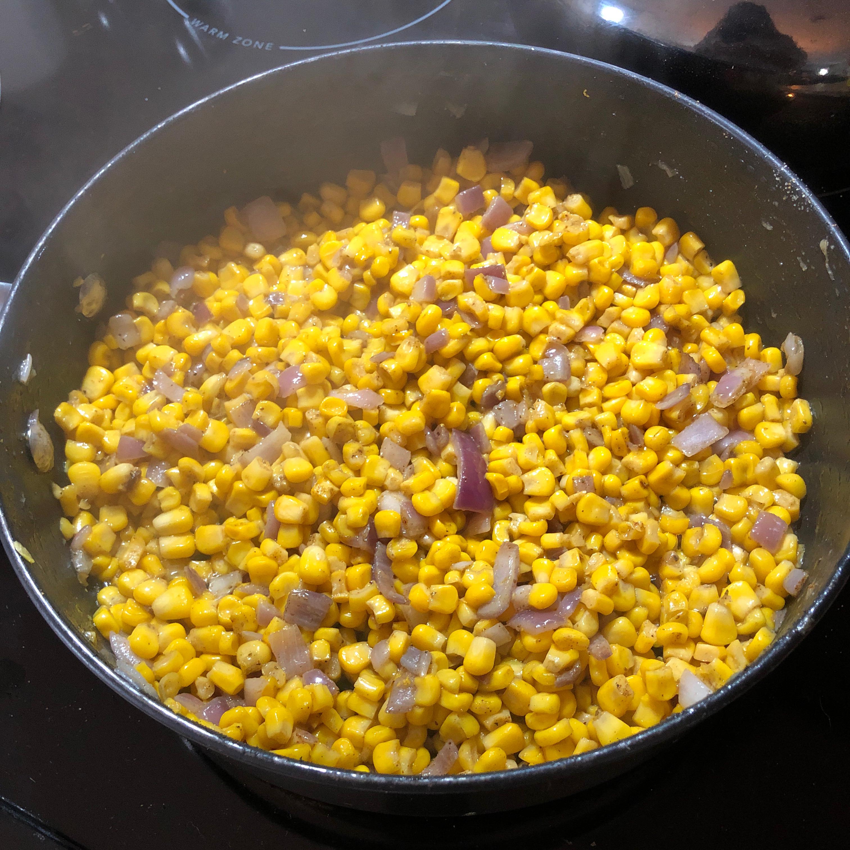 Sauteed Curried Corn