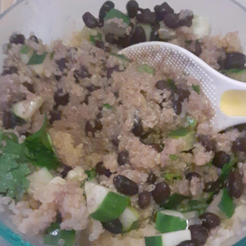 Black Bean Quinoa Salad Rainshadow